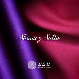Polyester Shamoz Satin Fabric