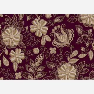 Schiffli Embroidery Woven Fabric