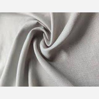 Off White Jute Blended Fabric