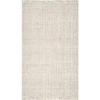 Off White Jute Fabric