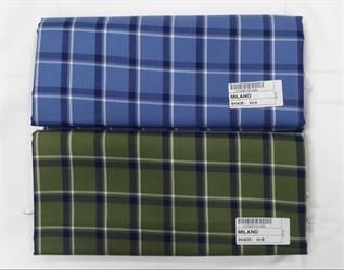 Cotton Woven Check Print Fabric
