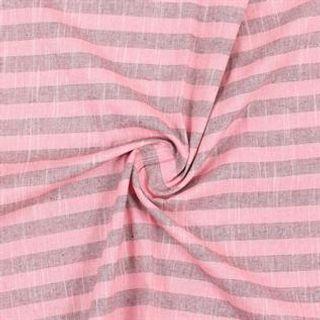 Stripe Cotton Woven Fabric