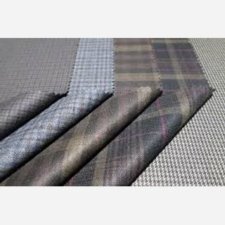 Polyester Wool Blended Fabric