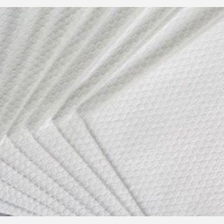 Hydroentangled Pulp and Spunbond Nonwoven Fabric