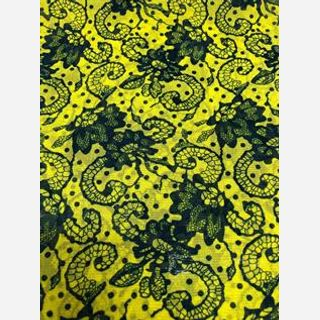 Nylon Knitted Printed Fabric