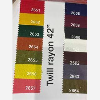 Liva Certified Twill Fabric