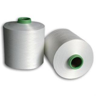 Semi Dull Raw White, low / semi intermingled, For chenille yarn weaving, 100% Polyester