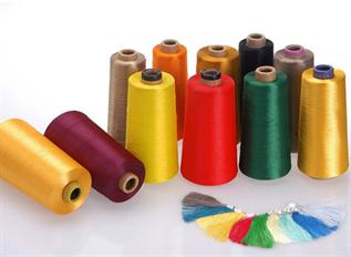 Dyed, Sewing thread / Embroidery purpose, 100% Polyester