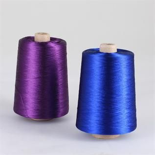 Dyed, For embroidery, 100% Viscose