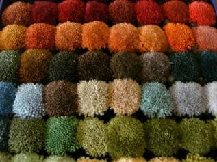 Dyed, For weaving embossed flower carpets, 100% Acrylic