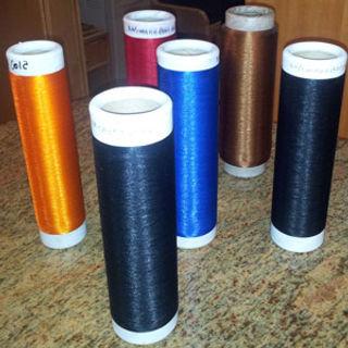 Nylon / Polyester bi-component yarn