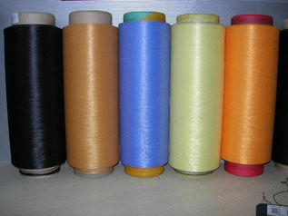 Polyester / Wool yarn