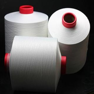 Greige, for knitting, Polyester