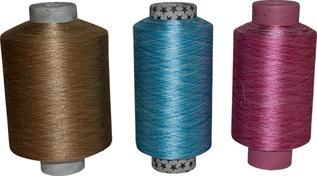 Dyed, Greige, for weaving and knitting, Polyester