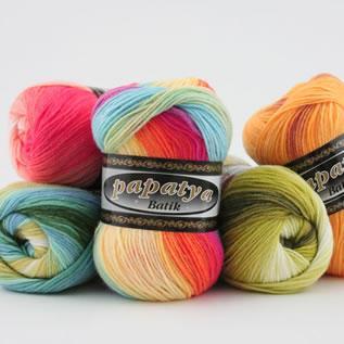 Dyed, Hand Knitting, 100% Acrylic