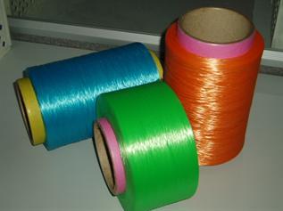 Dyed, For webbing weaving, 300D, 600D, 900D, Polypropylene