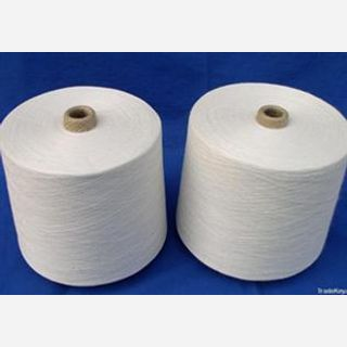Raw White, Bleached , For knitting, weaving, 32s-100s, 100% Cotton