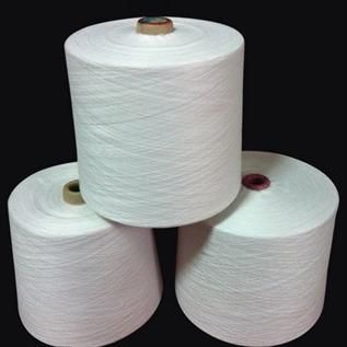 Raw White, For Knitting, Weaving, 20/1, 30/1, 30/2, 65% Polyester / 35% Cotton