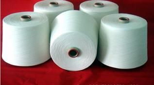Raw White, For knitting,weaving, 20, 65/35%