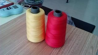 Greige and Dyed, For sewing thread, 10, 60, Polyester staple fiber 1.3D*38 mm
