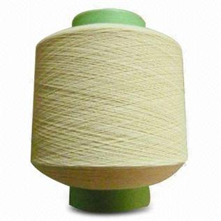 Dyed, Raw White, For Weaving, 95% Cotton / 5% Lycra