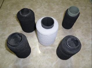 White & Black, for knitting, 100% Polyester