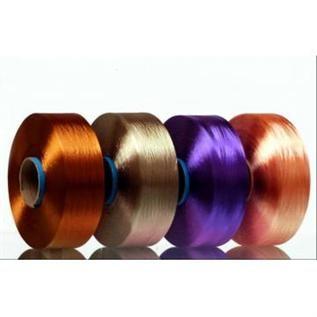 Dyed, for denim weaving, 100% Polyester