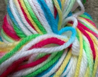 Dyed, For hand knitting, 100% Acrylic