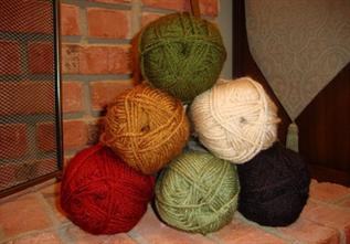 Dyed, Knitting, 100% Acrylic