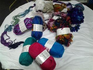 Dyed & Greige, For knitting ,  9/3, 26/2, 5/2 Ne, 100% Acrylic Hand Knitting