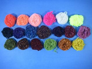 Dyed, For knitting , weating, webbing, briading, 1,2,3,4,6,8, Acrylic, Cotton, Polyester, Spandex