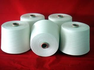 Raw White, For weaving and knitting, 20/1, 20/2, 30/1, 30/2, 45/1, 45/2, Polyester/Cotton (65/35%, 75/25%)