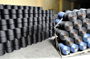Melange polyester Yarn