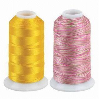 Dyed, For weaving, knitting & sewing, 75-600, 100% Viscose