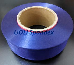 40D factory price 100% spandex yarn Dyed for circular knititng