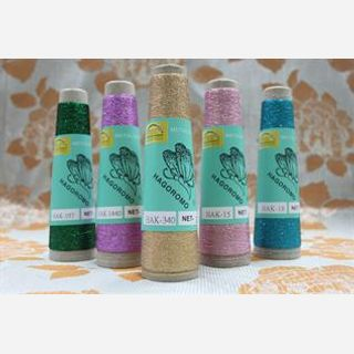 Dyed, Knitting, 50-150, 60% Nylon / 40% Metallic