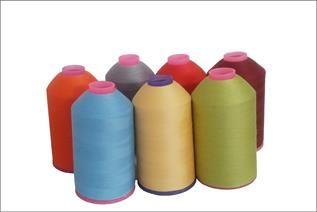 Dyed, Sewing thread, 100% polyester spun yarn