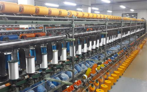 orange fusion yarn