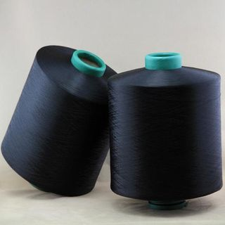 Blended cotton-viscose yarn