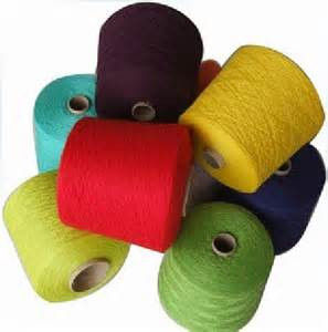 Dyed Polypropylene Cotton Yarn