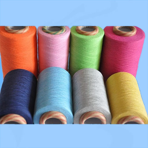 Plain Dyed 100% Cotton Open End Yarn