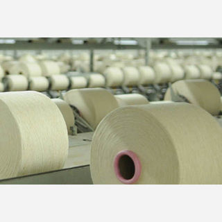 Natural Polyester Cotton Yarn