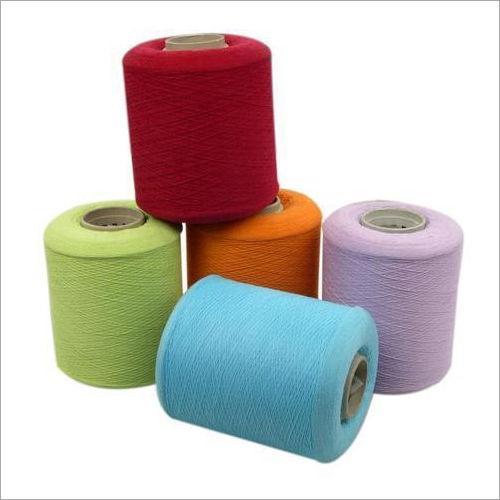 Spun Polyester Yarn.