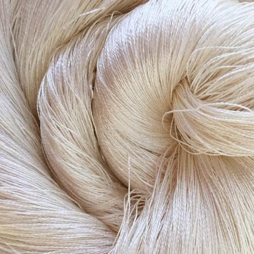 Fine Twisted Silk Yarn