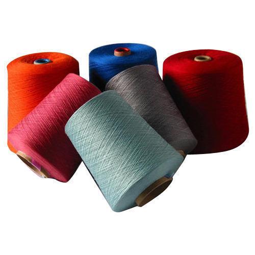 Dyed Polyester Viscose Yarn