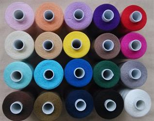 Multi Color Open End Yarn