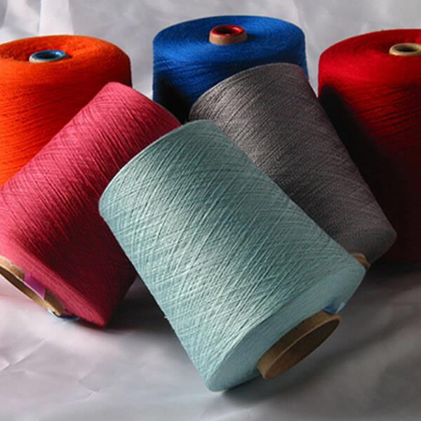 Cotton Solid Dyed Yarn