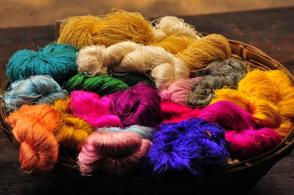 Solution Dyed Polyester Yarn