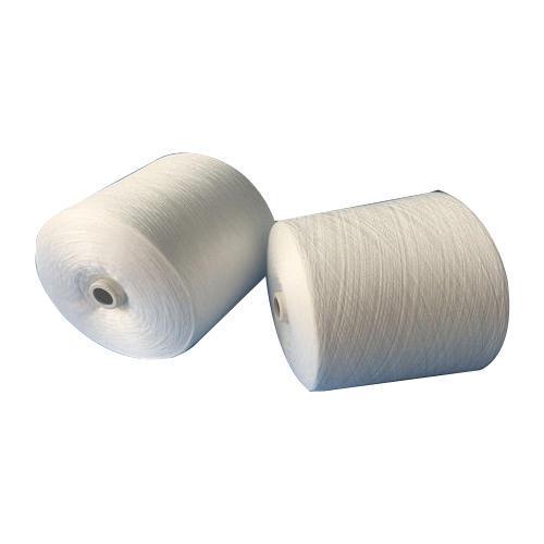 Raw White Polyester Yarn