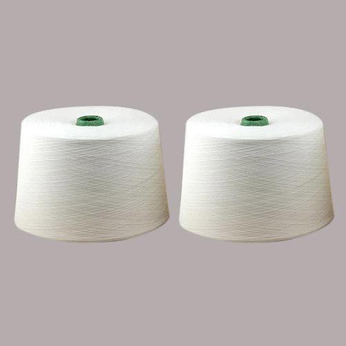 Polyester Raw White Yarn